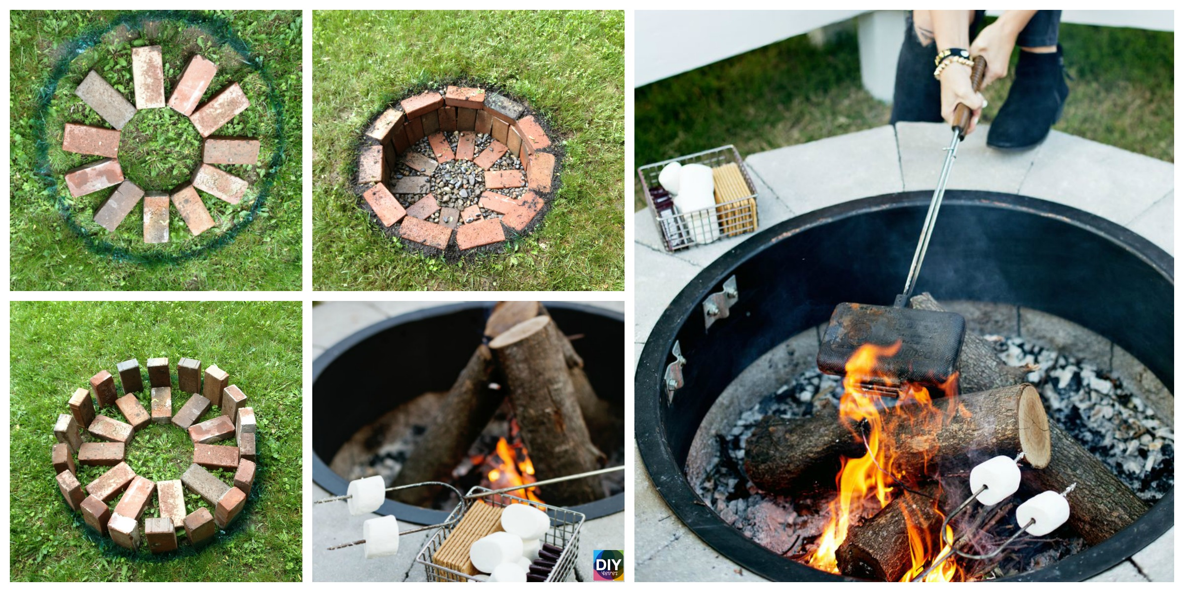 Build Fire Pit Tutorial – Step by Step