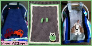 diy4ever- Crochet Car Seat Tent - Free Pattern