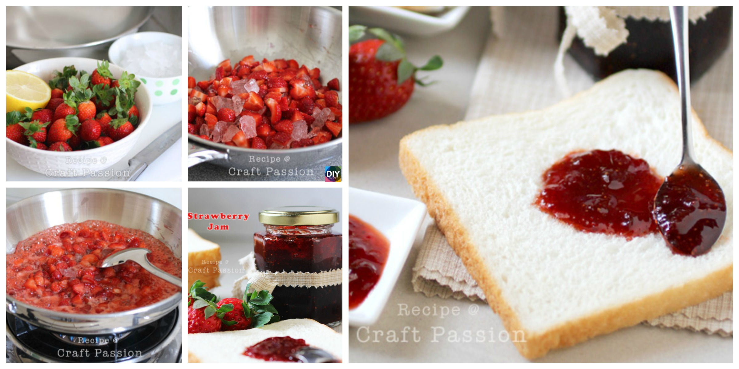 Delicious Homemade Strawberry Jam Recipe