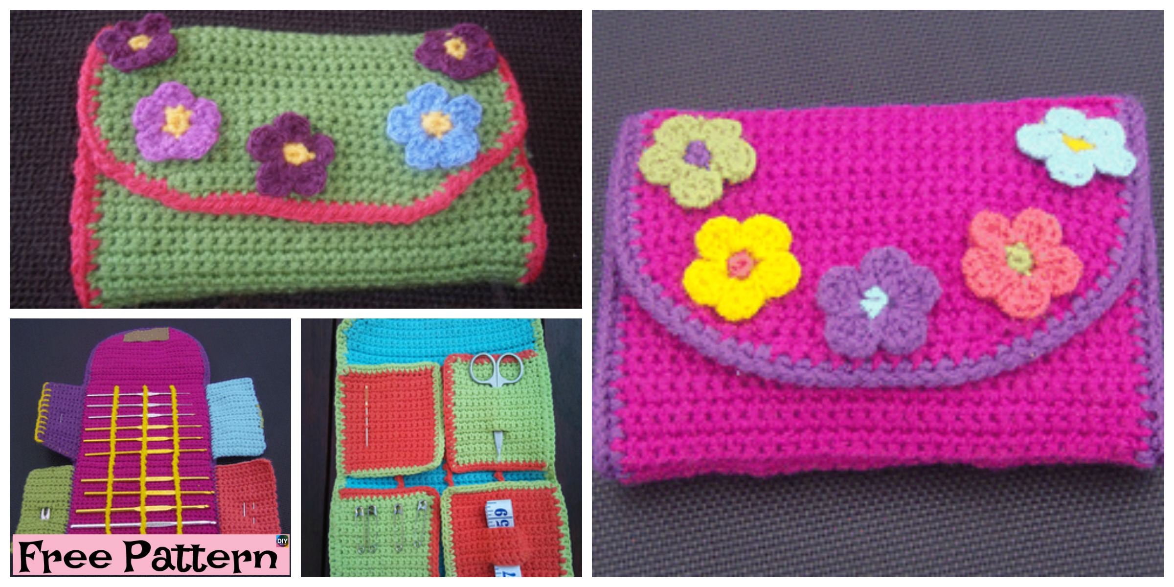 Useful Crochet Hook Case – Free Pattern