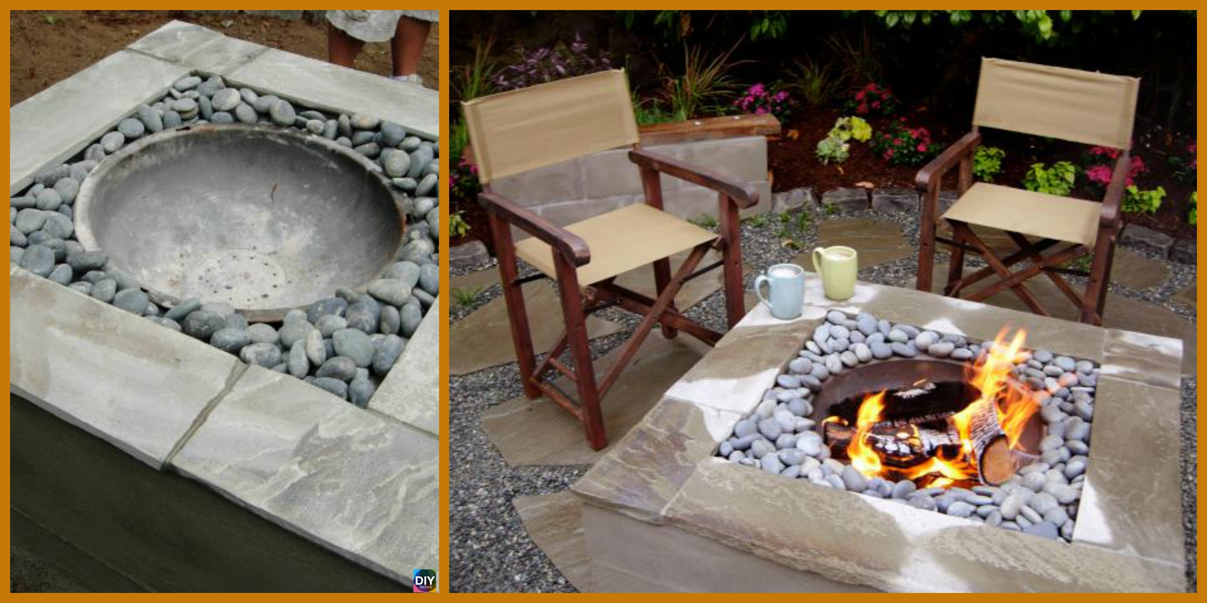 Useful DIY Concrete Fire Pit Tutorial