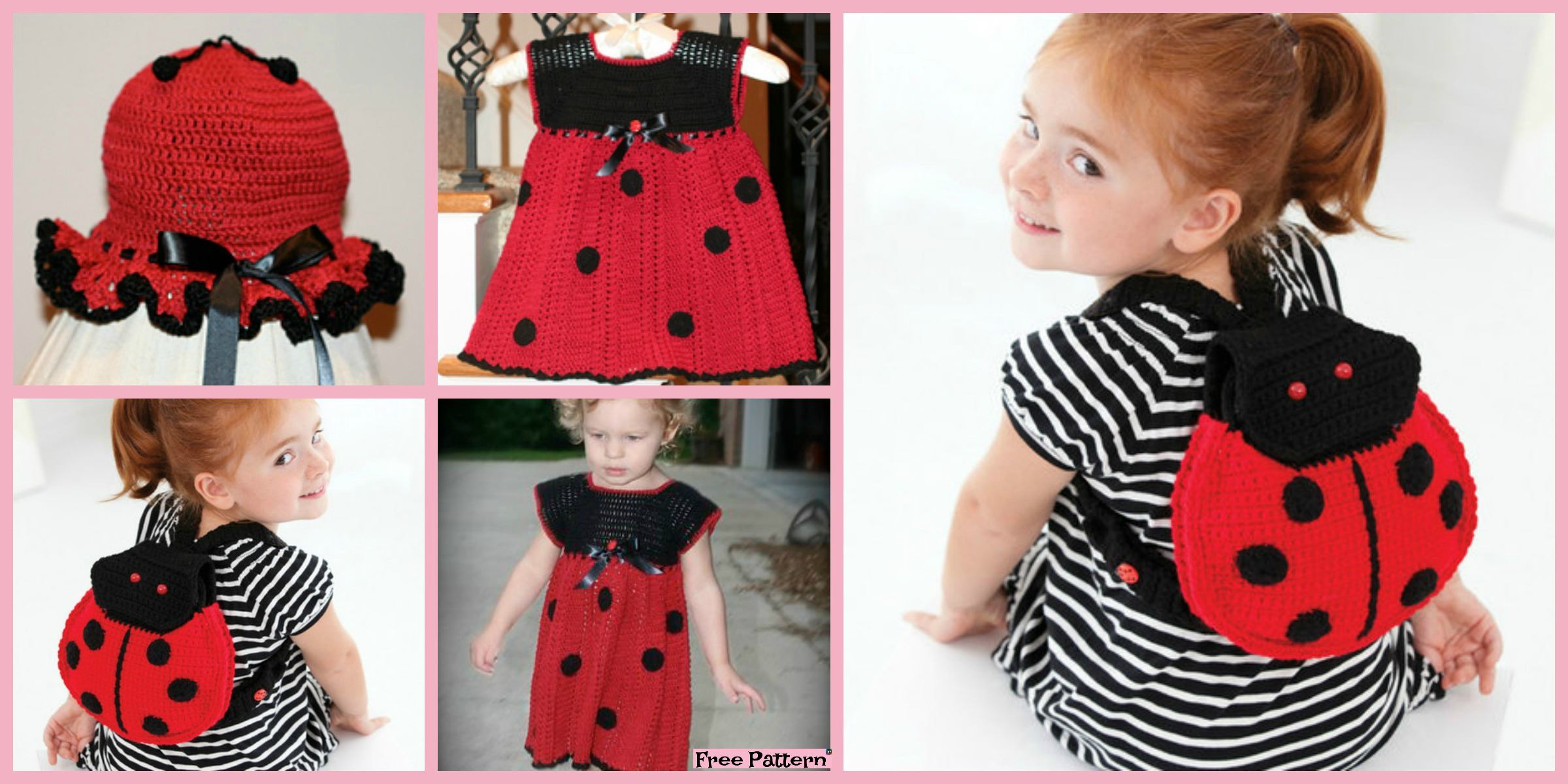 Adorable Crochet Lady Bug Project – Free Patterns