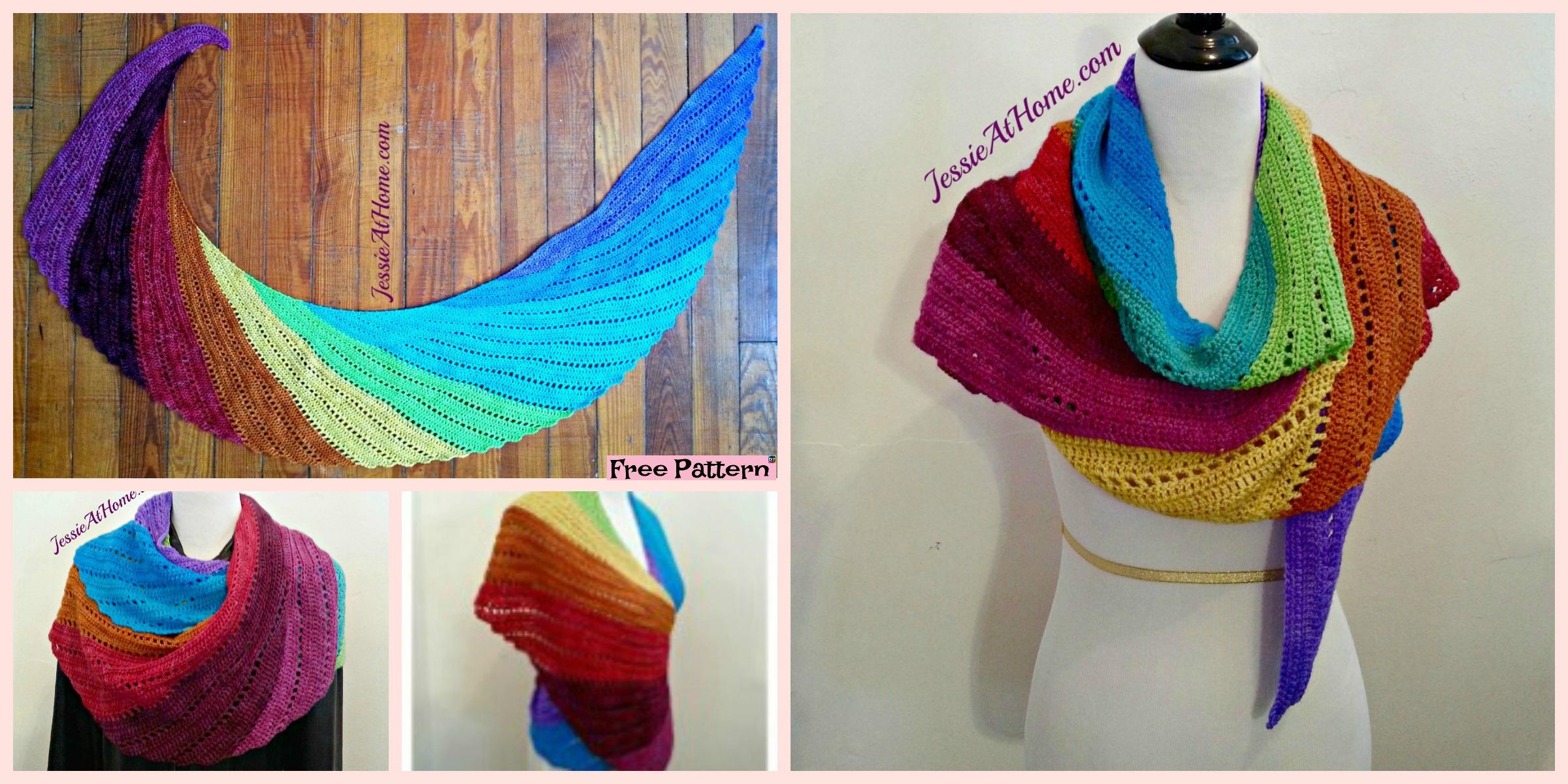 Amazing Crochet Skylark Scarf – Free Pattern
