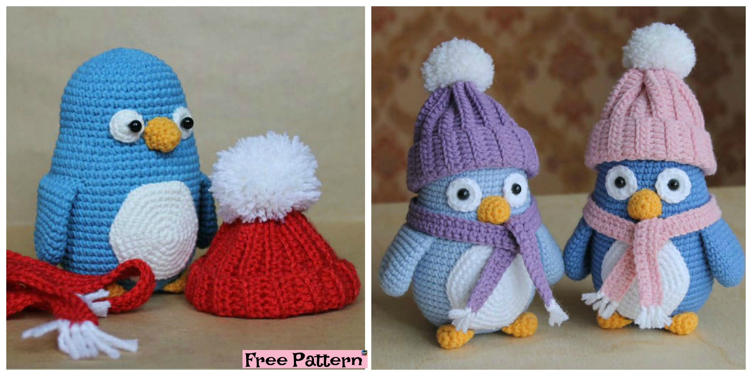 Crochet Baby Penguin Amigurumi – Free Pattern