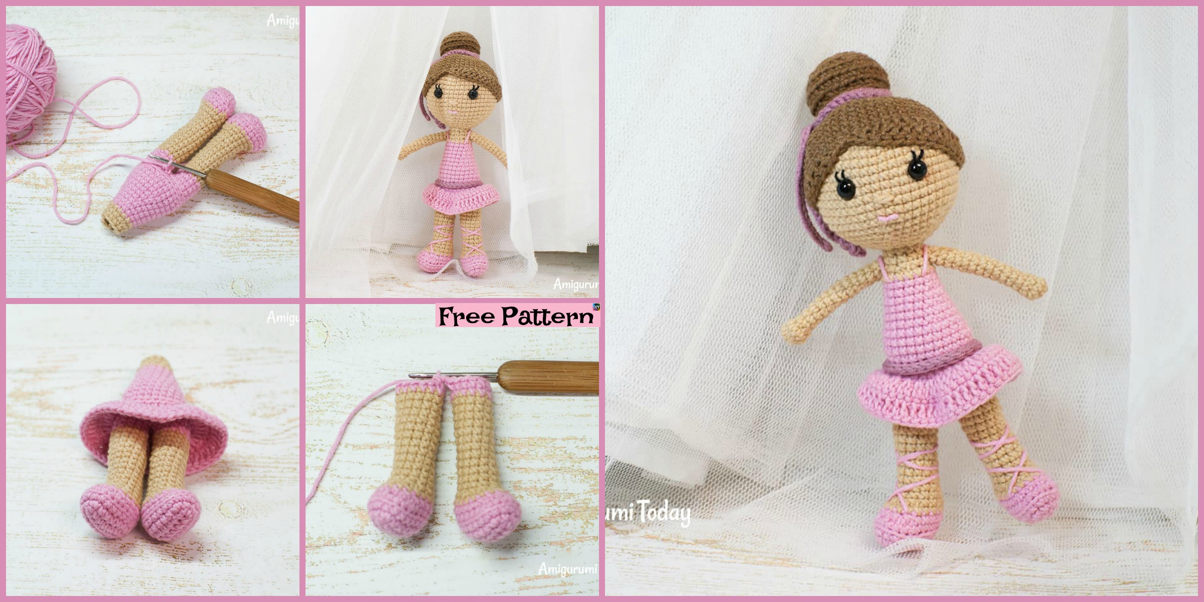 Beautiful Skills - Crochet Knitting Quilting : Weebee Sally Doll ... | 1200x2400
