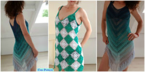 Crochet Beach Dress Cover - Free Patterns