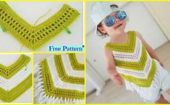 diy4ever-Crochet Little Girl Summer Top - Free Pattern