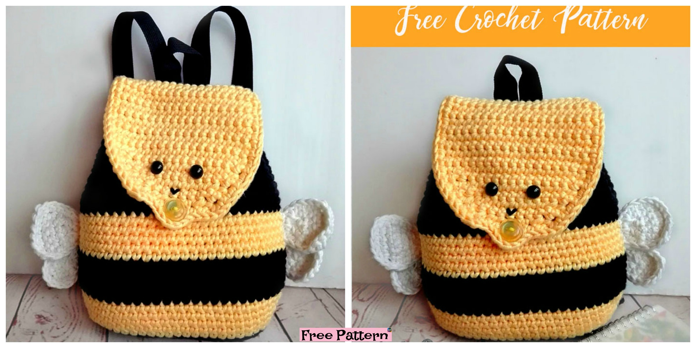 Baby Knitting Patterns Bumble Bee Free Amigurumi Crochet Pattern... | 1200x2400