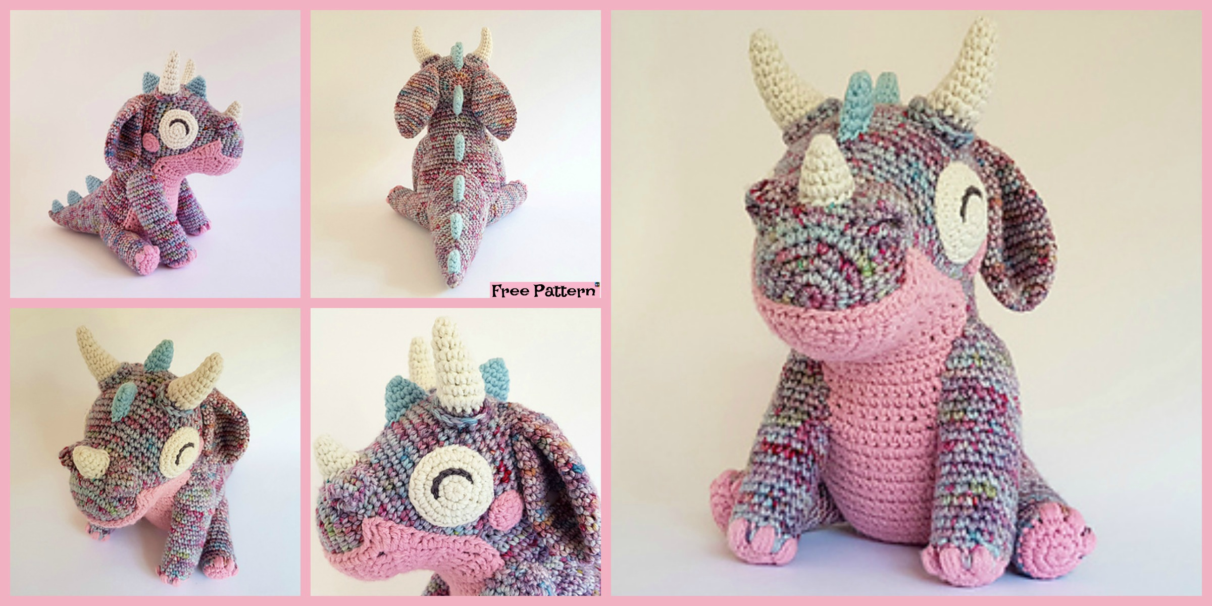 Cute Little Crochet Orbit Dragon – Free Pattern