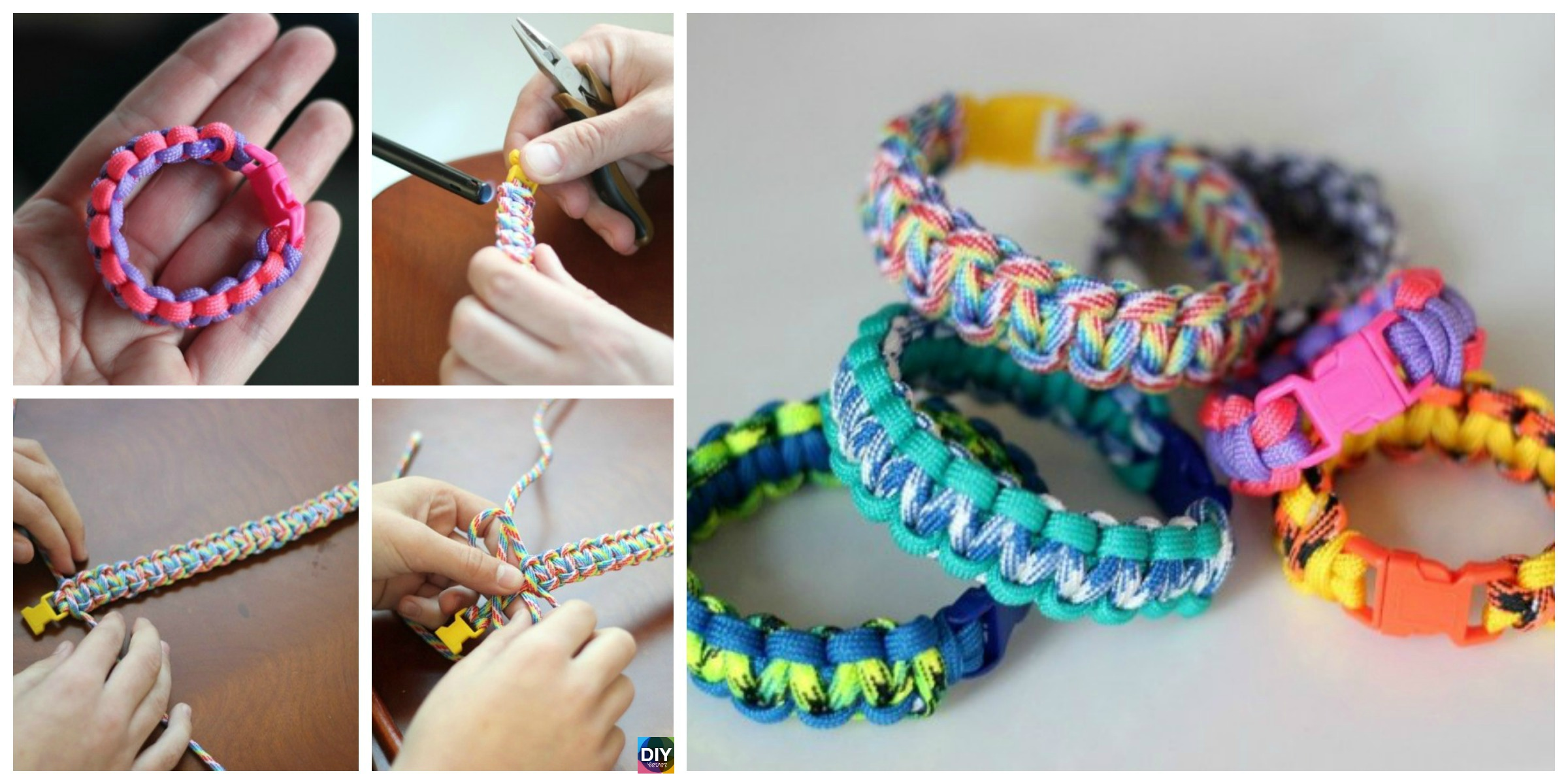 DIY Paracord Bracelet Tutorial – Step by Step