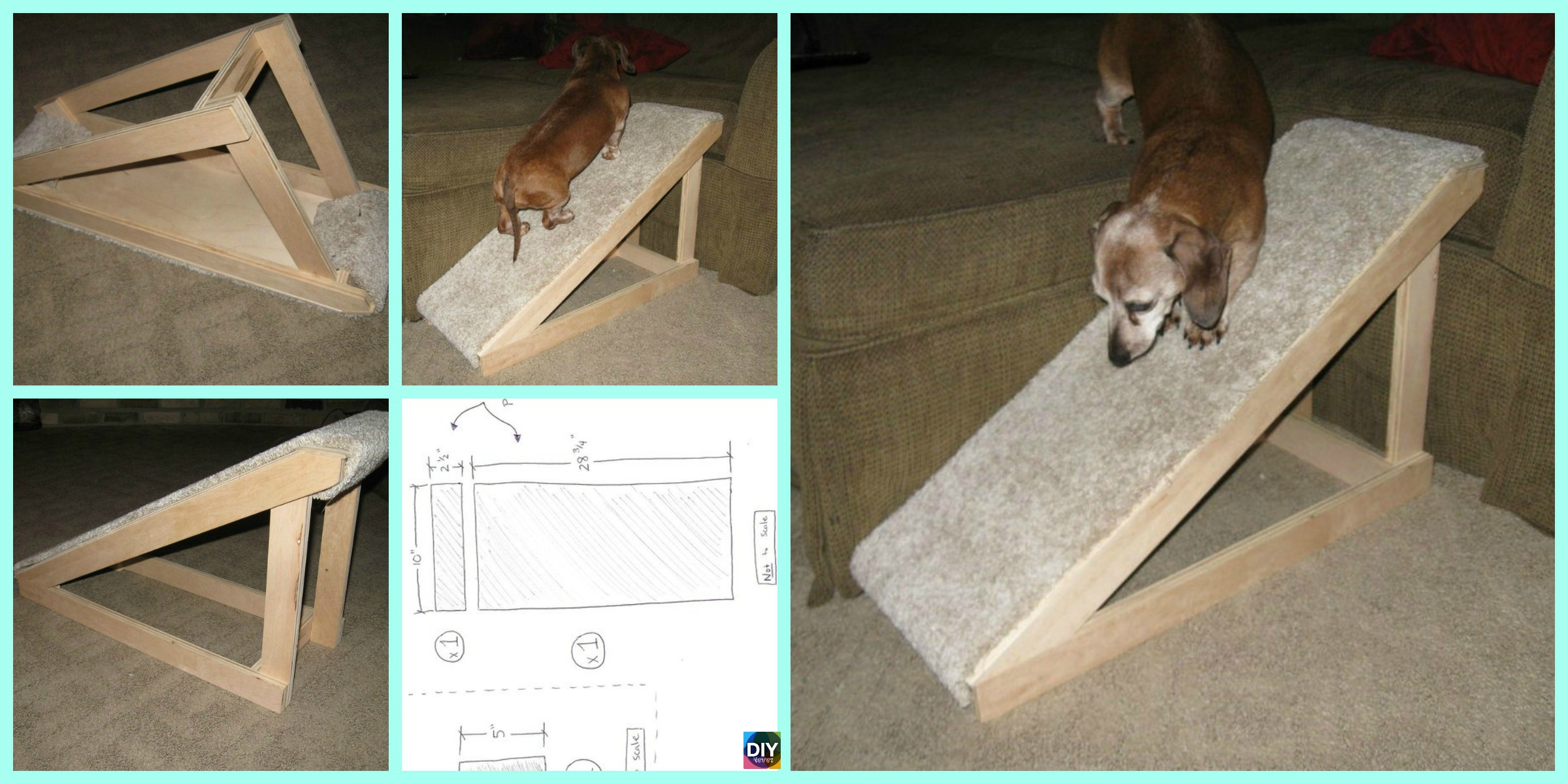 Quick DIY Pet Ramp Tutorial – Step by Step
