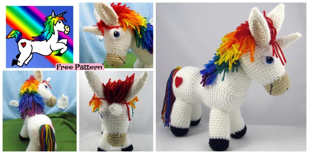 Dusty the Donkey amigurumi pattern - Amigurumipatterns.net | 512x1024