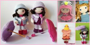 diy4ever- 8 Cuest Crochet Doll Amigurumi Free Patterns