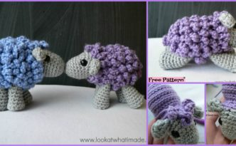 diy4ever- Adorable Crocheted Sheep - Free Pattern
