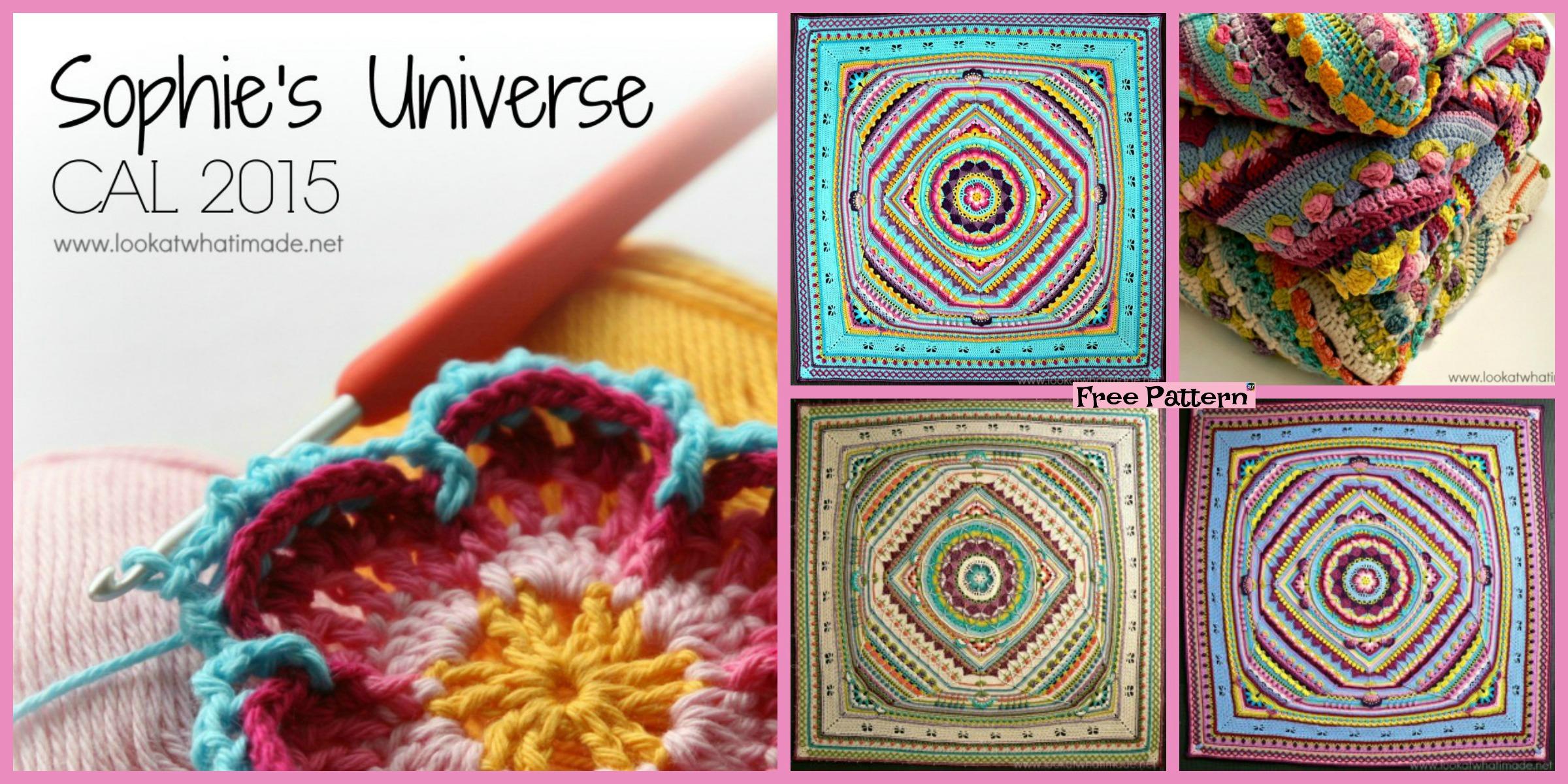 Amazing Crochet Universe Blanket  – Free Pattern
