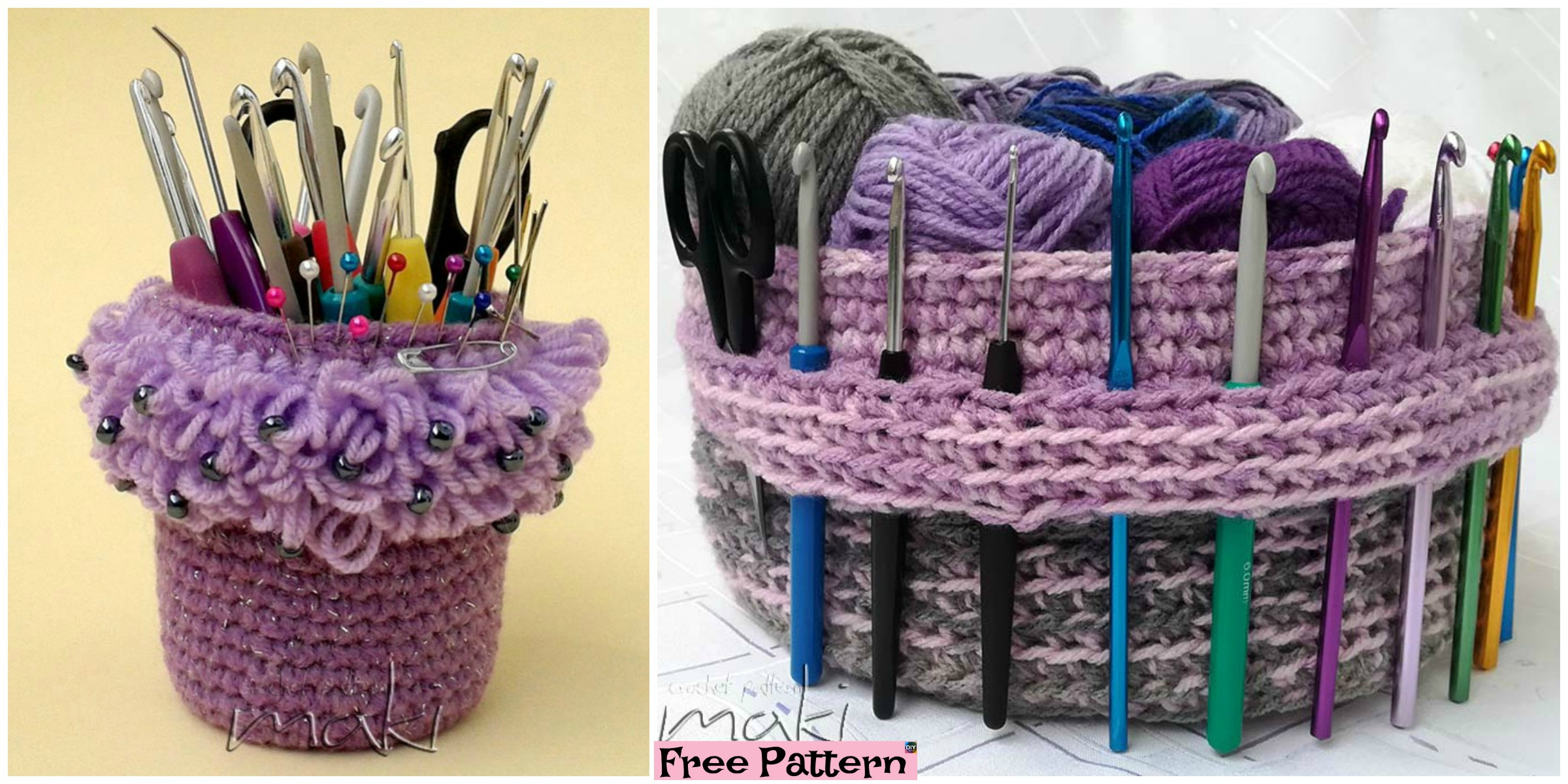 Creative Crochet Yarn Basket – Free Pattern