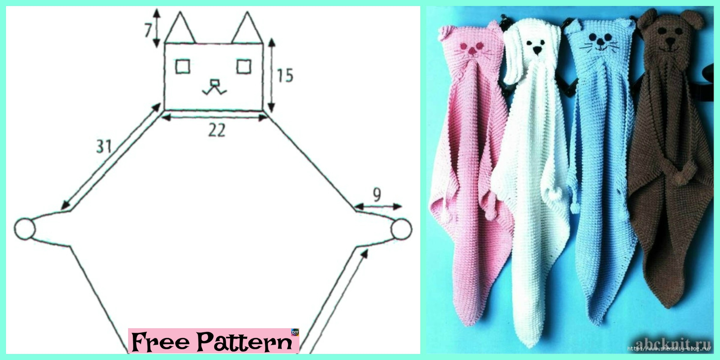 Funny Knit Home Pet Baby Blanket – Free Pattern
