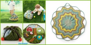 diy4ever-Convertible Crochet Blanket Bag - Free Pattern