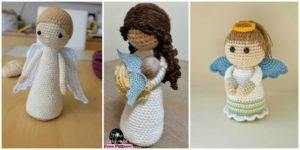 diy4ever-Crochet Amigurumi Doll Angel - Free Patterns