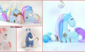 diy4ever- Crochet Amigurumi Horse - Free Pattern