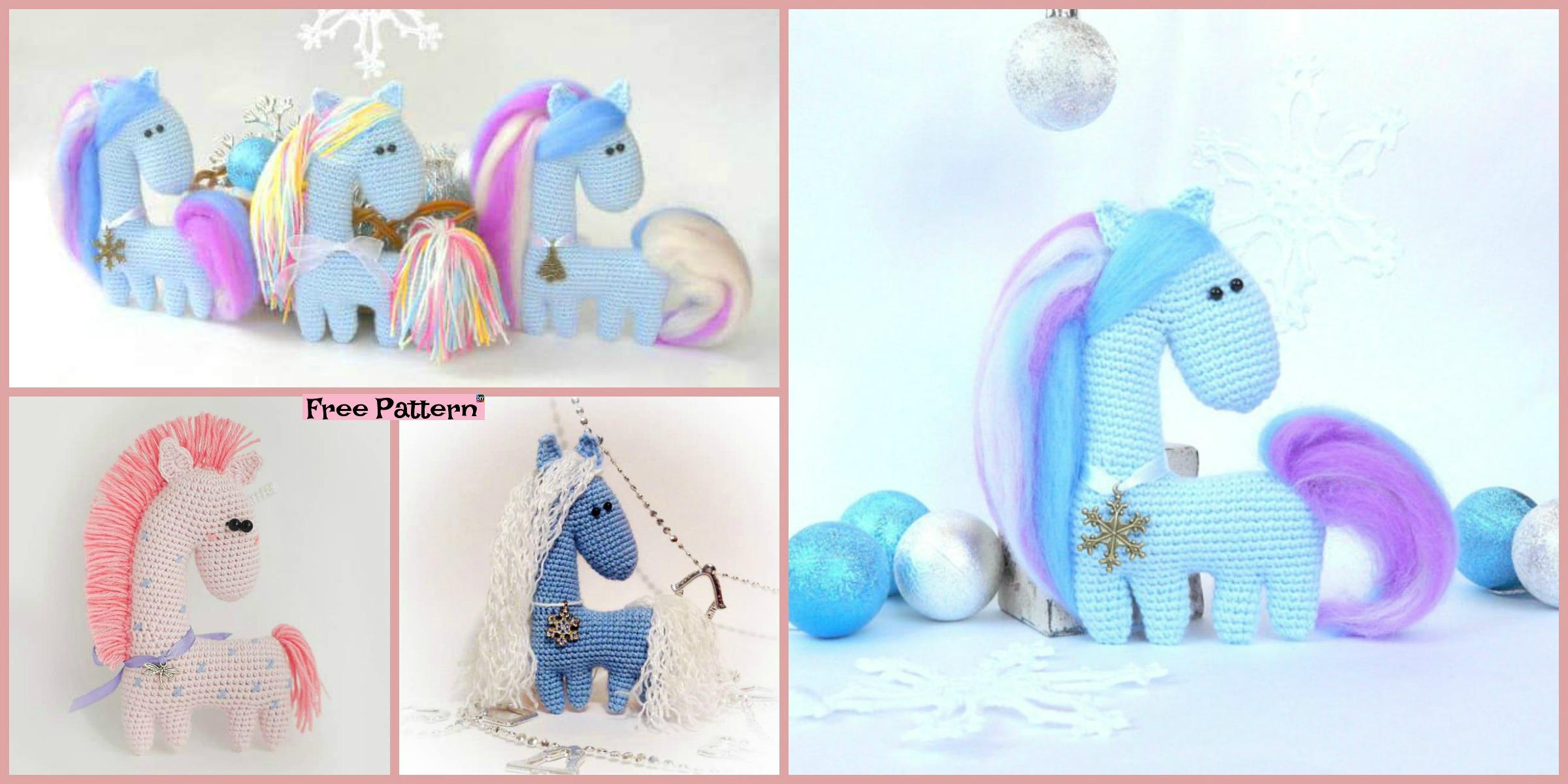 Amigurumi Crochet Horse Patterns – FREE AMİGURUMİ CROCHET | 1200x2400