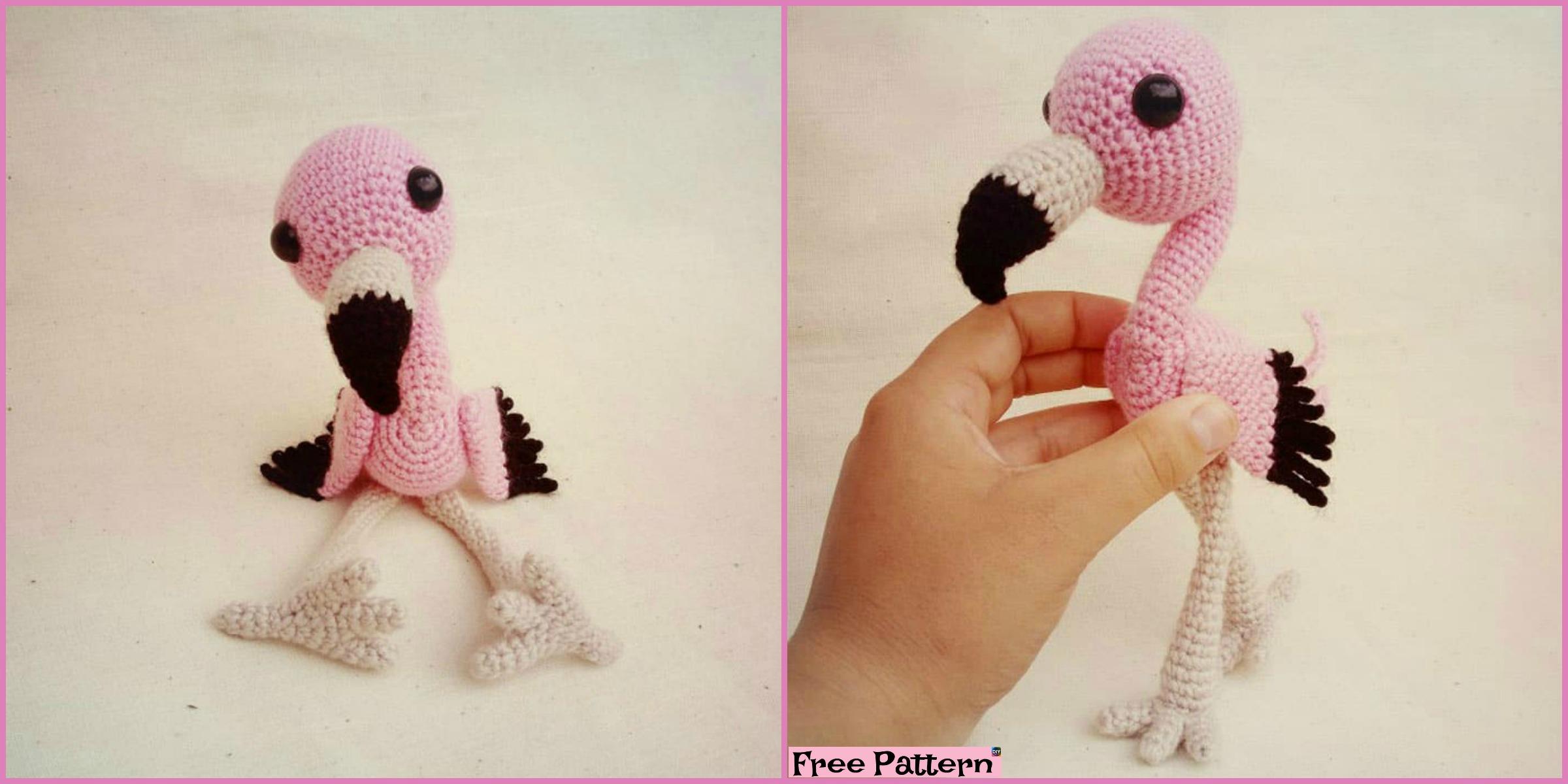 Crochet Baby Flamingo Amigurumi – Free Pattern