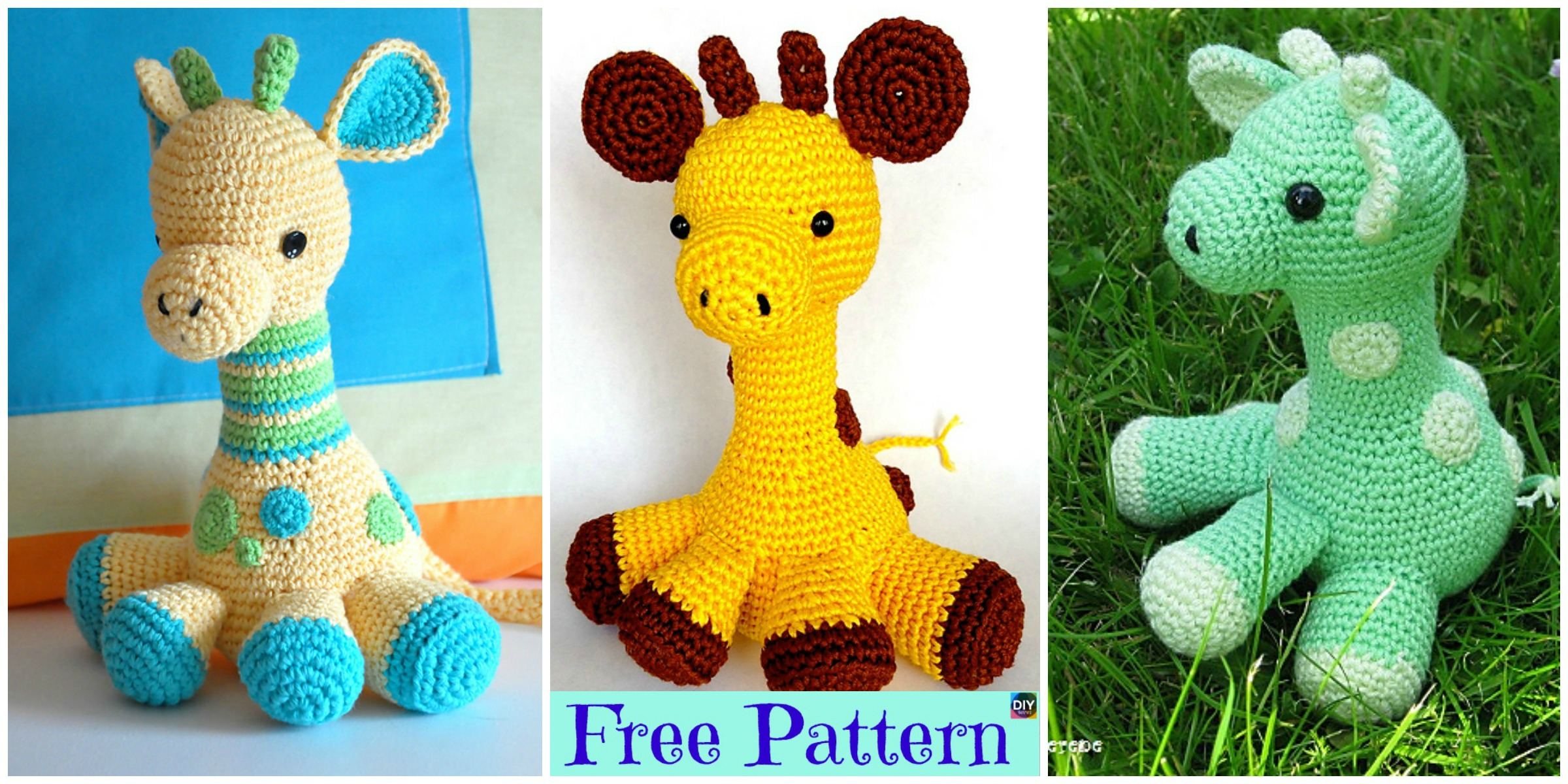 Crochet Baby Giraffe Amigurumi – Free Pattern