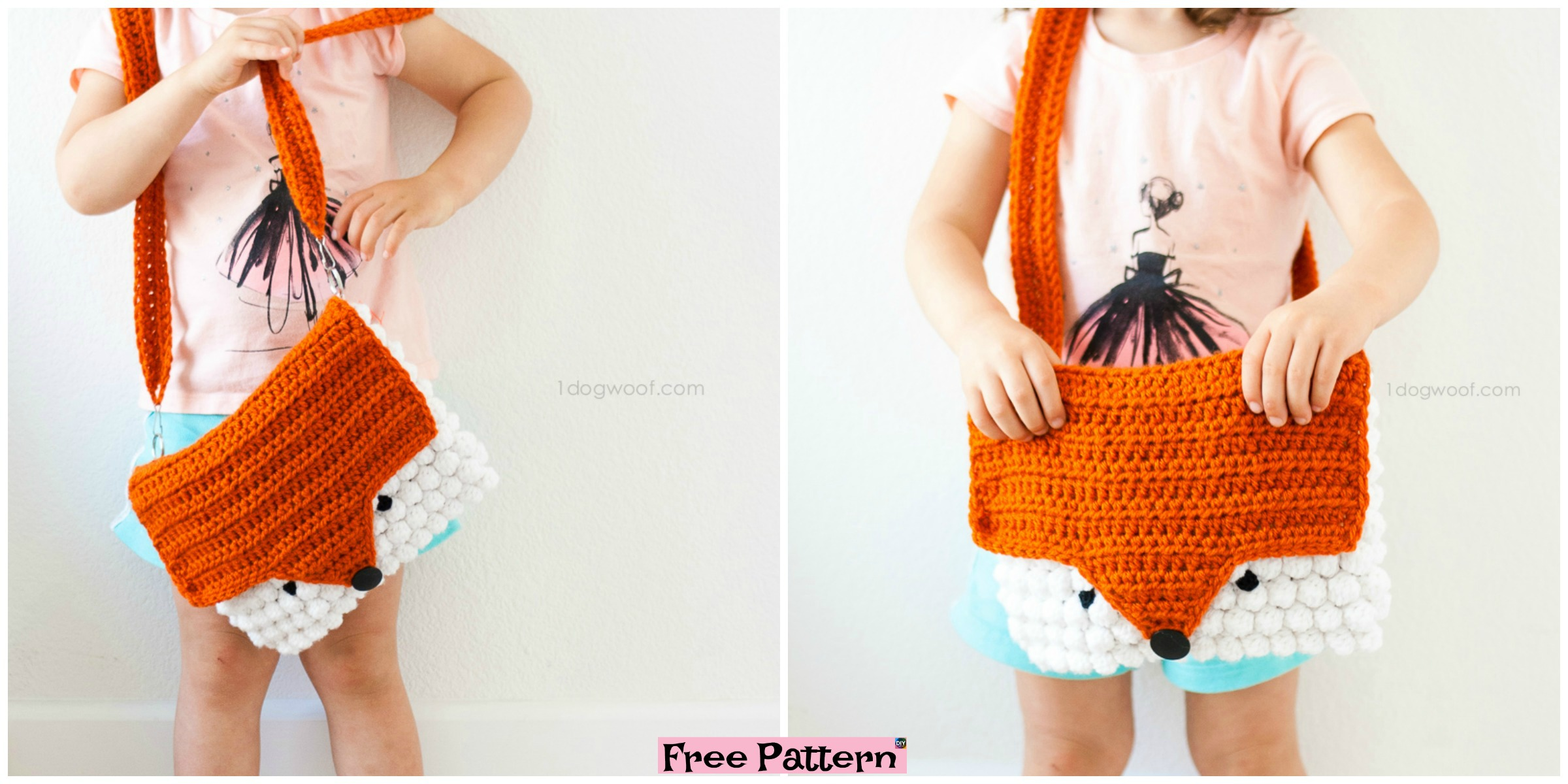Cute Crochet Fox Purse – Free Pattern