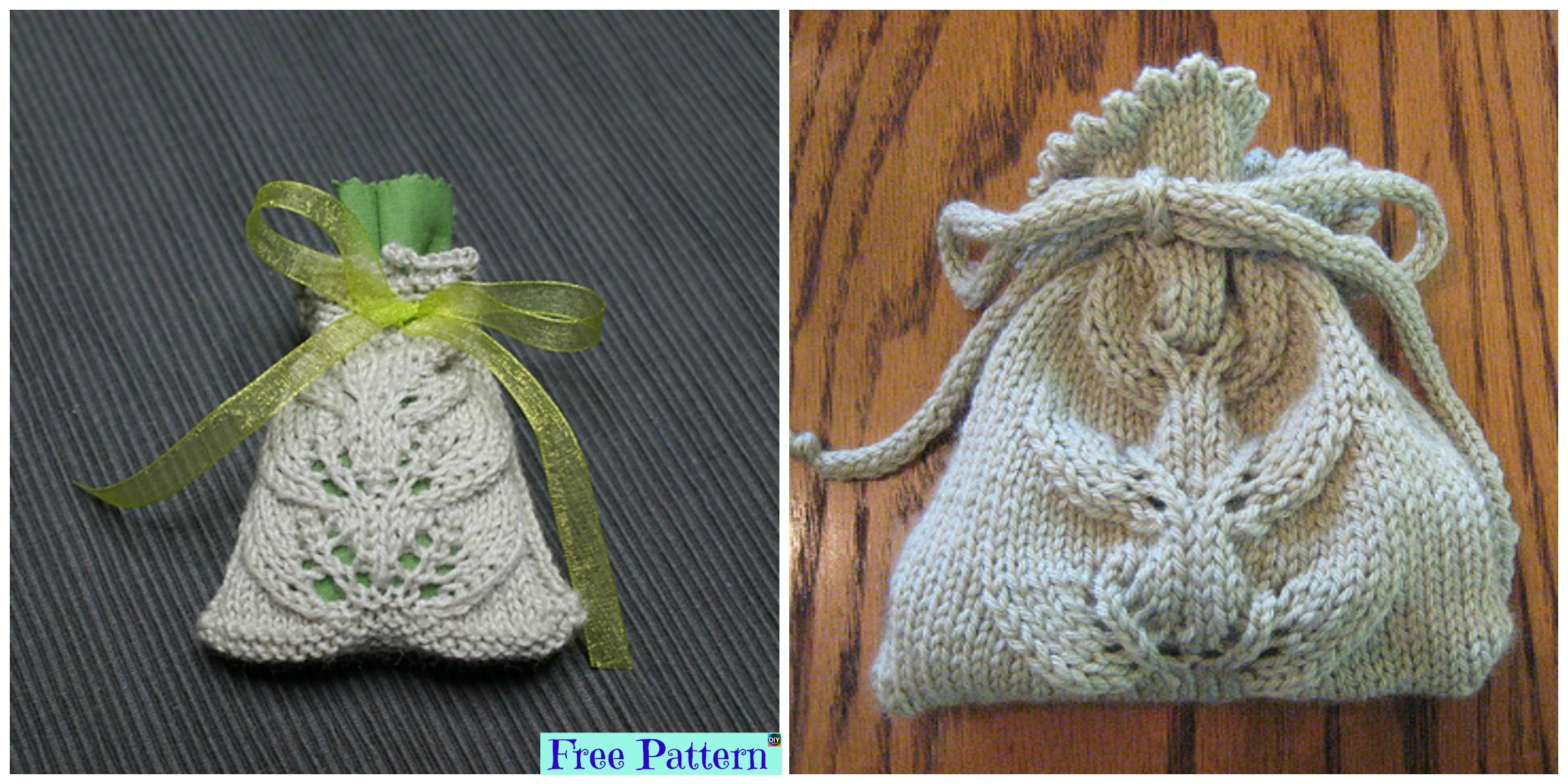 Cute Knit Small Lace Bag – Free Pattern