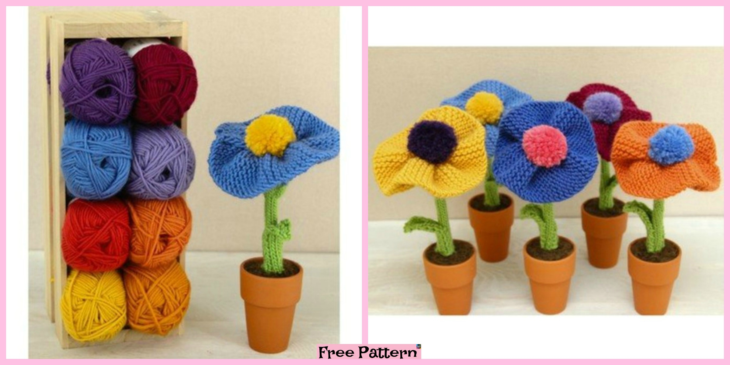 Pretty Knit Berkshire Blossoms – Free Pattern