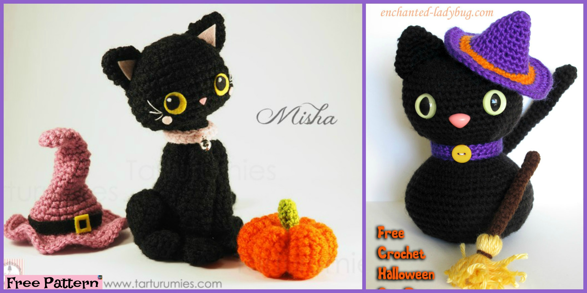 Crochet Amigurumi Black Cat – Free Patterns