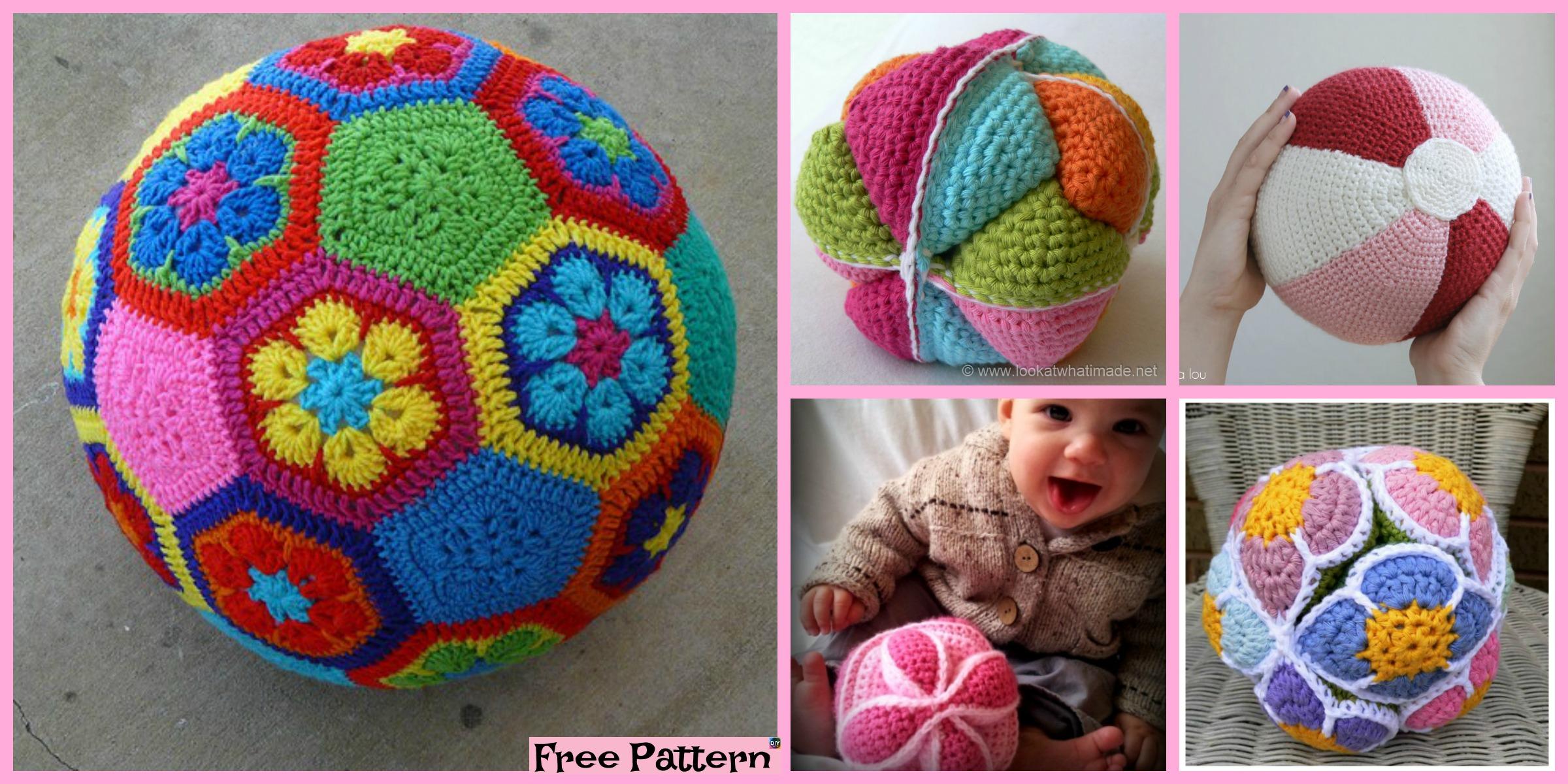 10 Cute Crochet Balls – Free Patterns