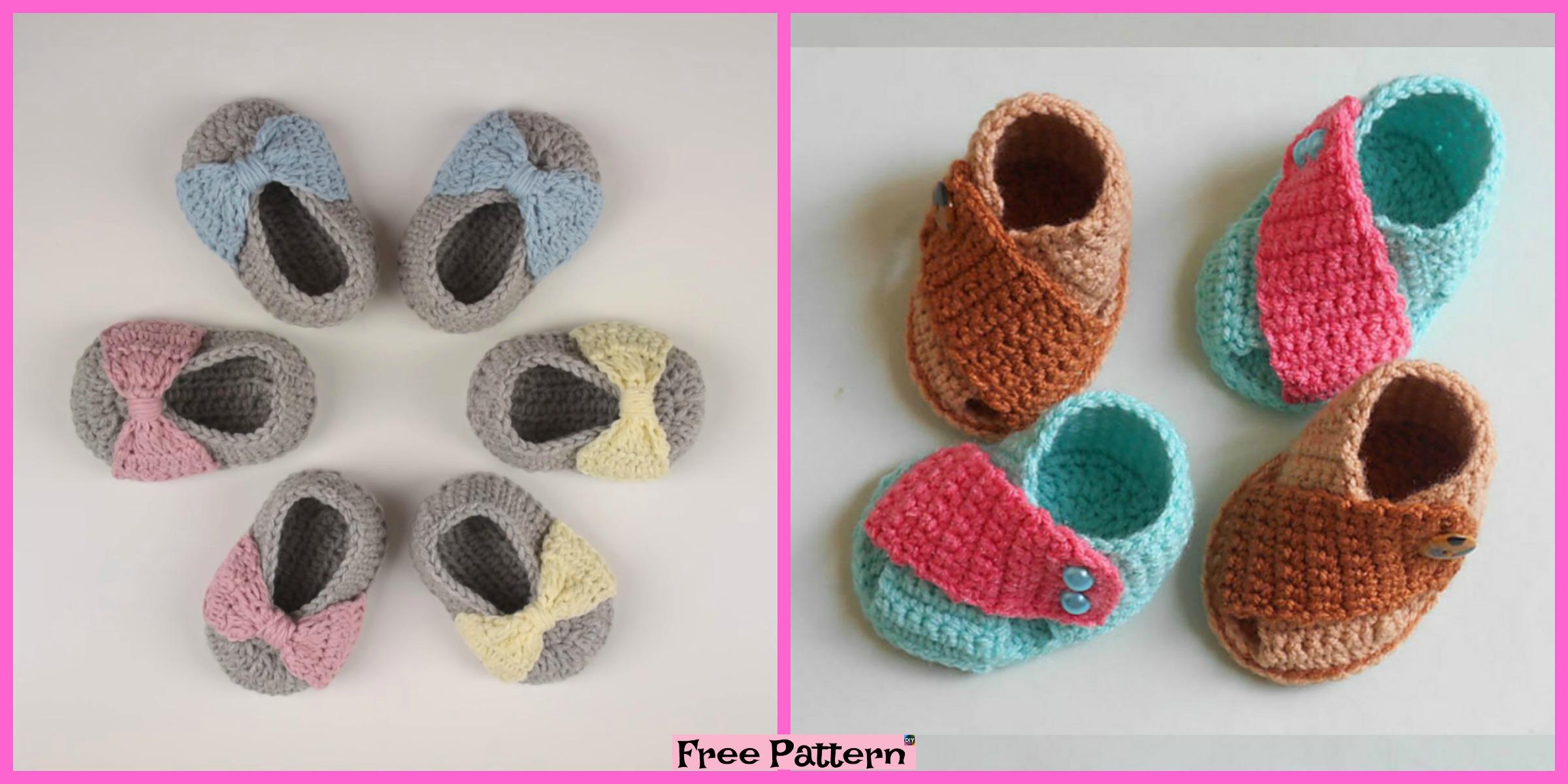 Crochet Baby Stylish Shoes – Free Pattern