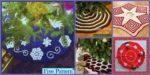 diy4ever-10 Crocheted Christmas Tree Skirt Free Patterns