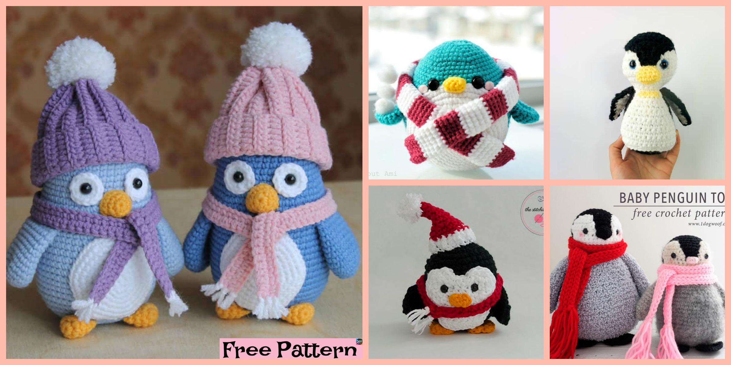 Crochet Penguin Softie – Free Patterns