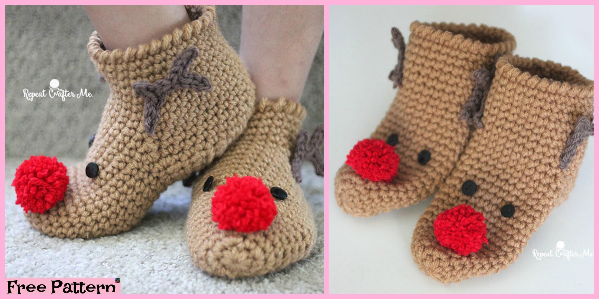 Amigurumi Christmas Reindeer Free Crochet Pattern | 1200x2400