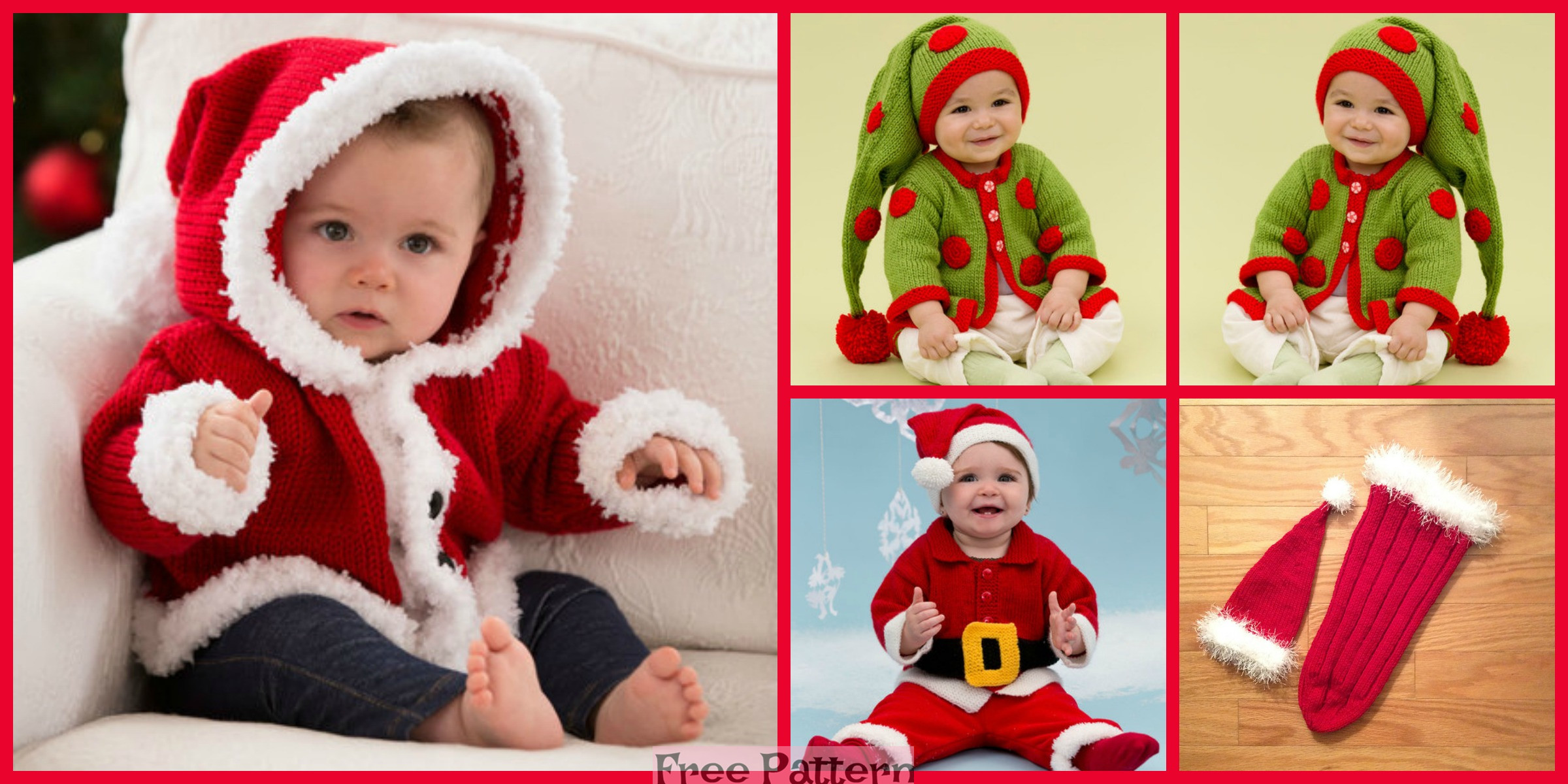 Knit Santa Baby Gifts – Free Patterns