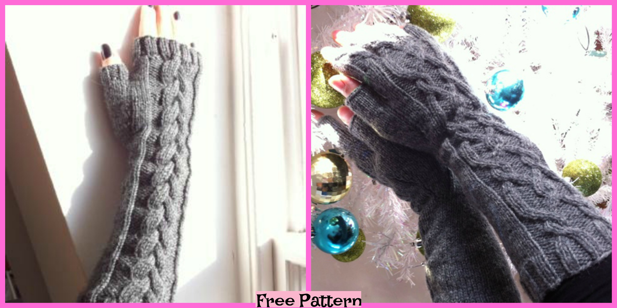 Knit Fingerless Gloves – Free Patterns