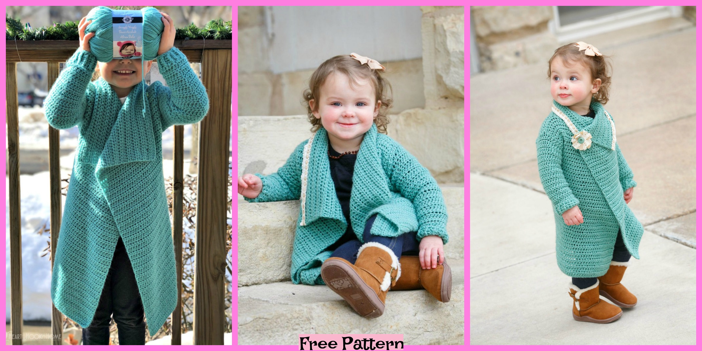 Crochet Blanket Cardigans – Free Patterns