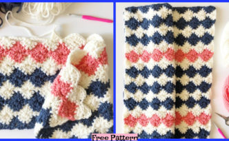 diy4ever-Crochet Harlequin Blanket - Free Pattern