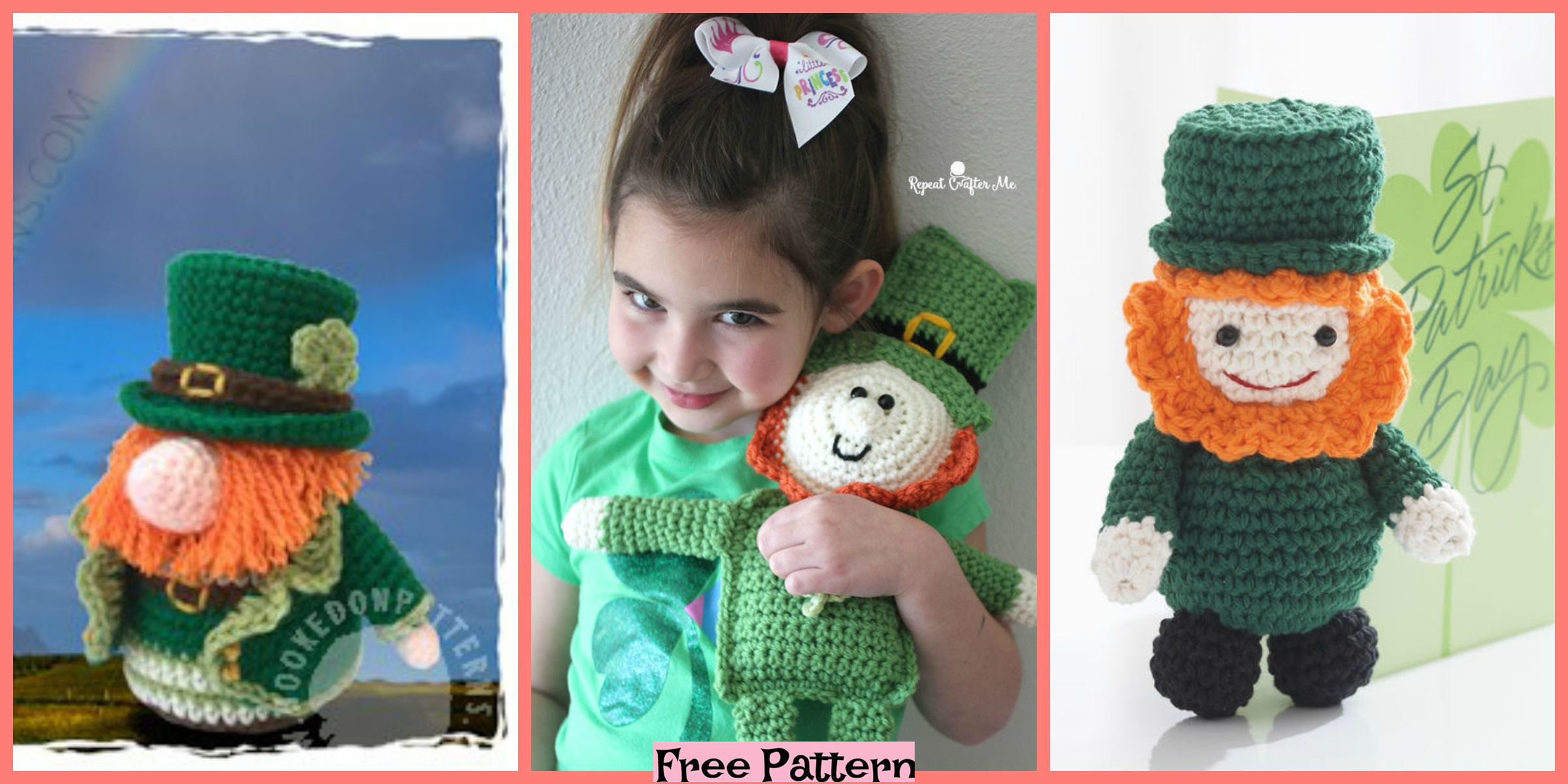 Crochet Leprechaun Cuddle Buddy – Free Pattern