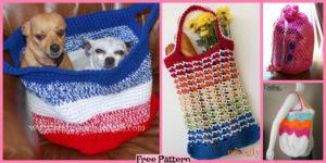 diy4ever-8 Beautiful Crochet Beach Bag Free Patterns