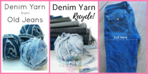 diy4ever-DIY Denim Yarn from Old Jeans