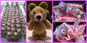 diy4ever- Crochet Cute Bear - Free Patterns