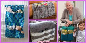 diy4ever- Crochet Home Organizers - Free Patterns