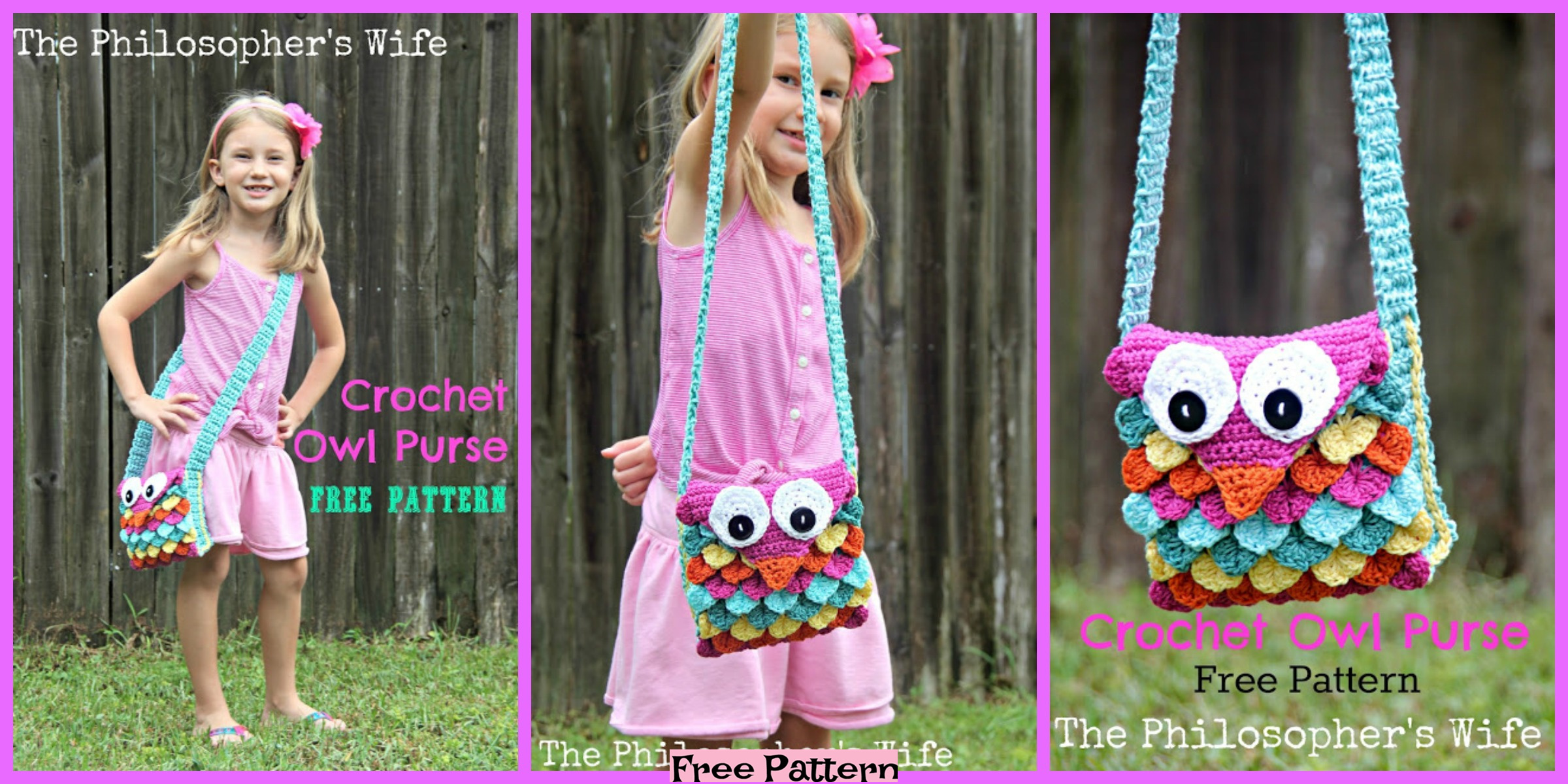 Crochet Owl Purse Free Pattern