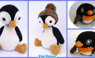 diy4ever-Crochet Pingu Penguin - Free Patterns
