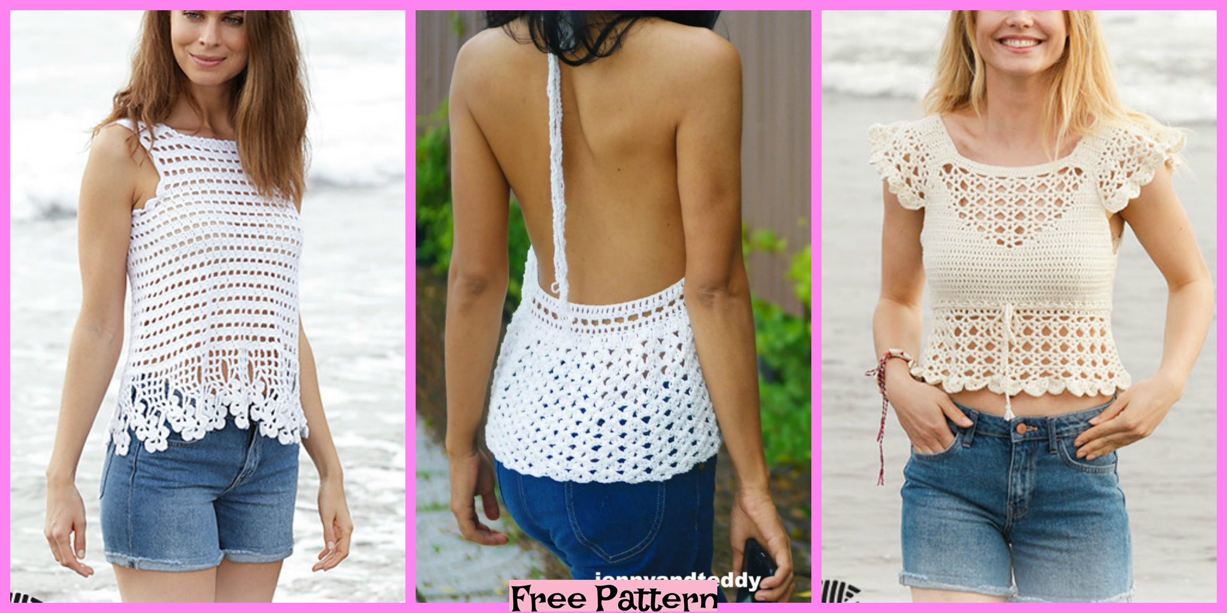 5 Most Beautiful Lace Tops – Free Pattern
