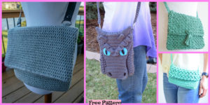 diy4ever -6 Crochet Cross Body Bag Free Patterns