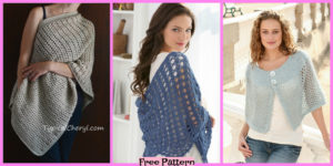 diy4ever-6 Crochet Shoulder Wrap Free Patterns